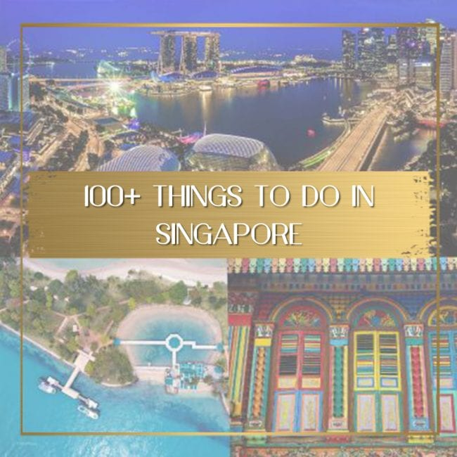 Things to do in Singapore feature