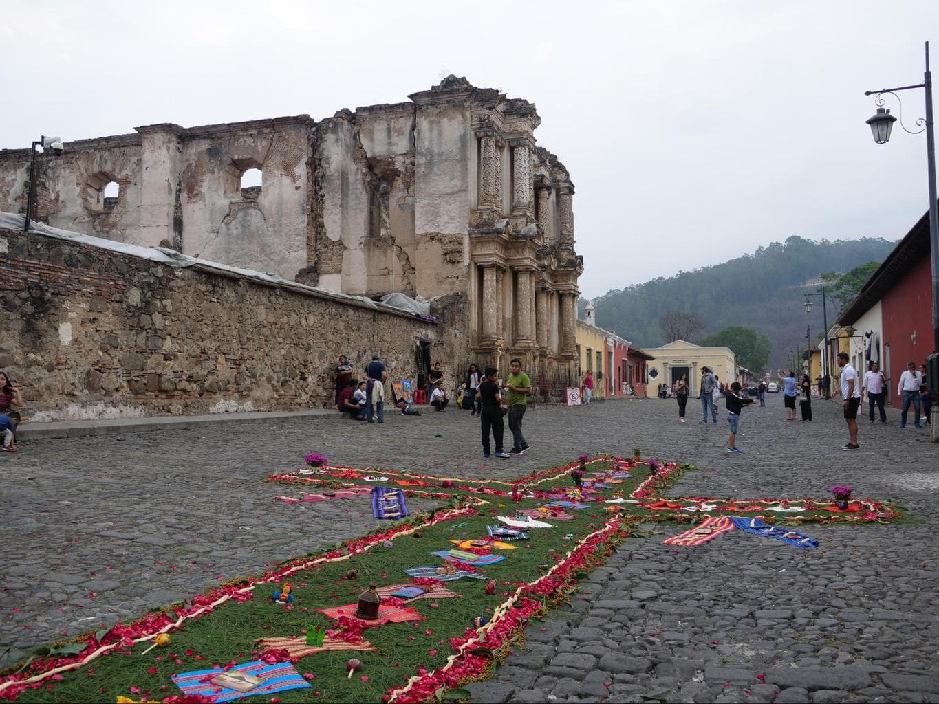 Antigua Guatemala translates to The Former Guatemala