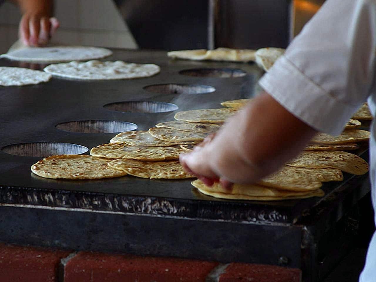 Fresh tortillas in Guatemala