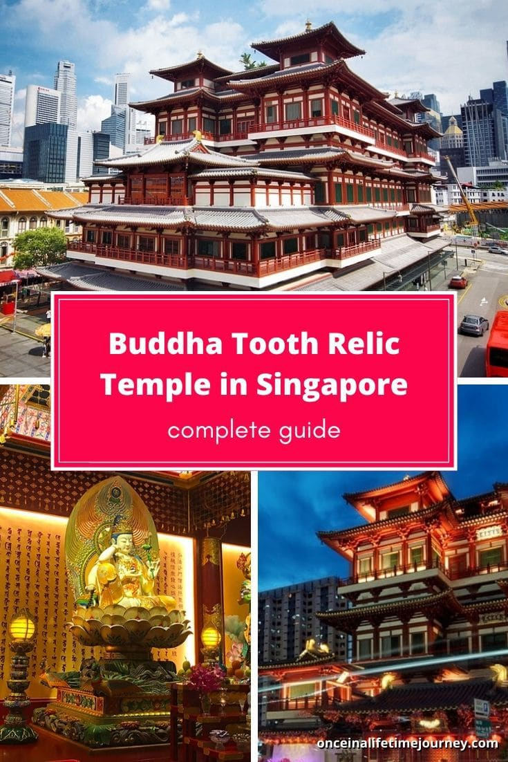 Guide to the Buddha Tooth Relic Temple & Museum in Singapore