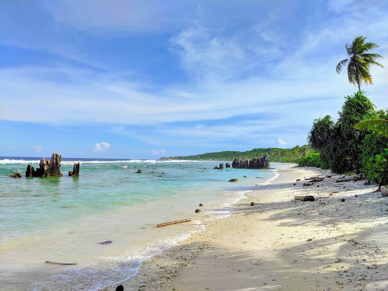 The beaches of Nauru