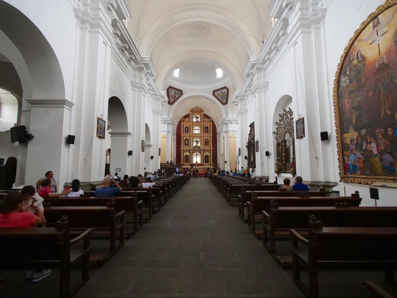 Iglesia de San Francisco interior