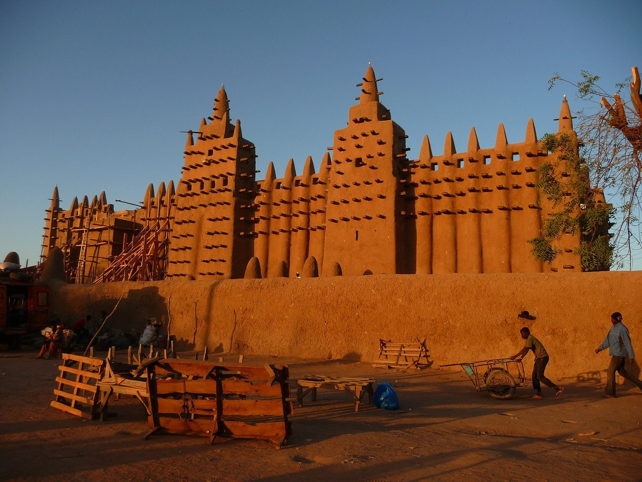 Mud Mosque in Mali