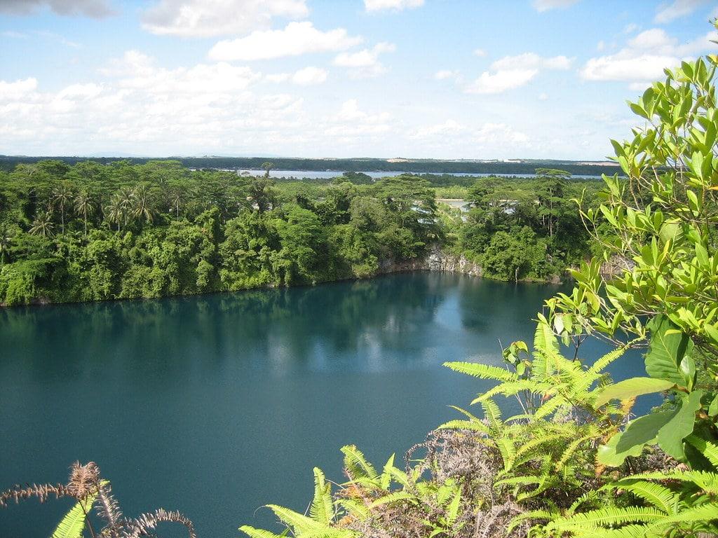 Quarry view on Pulau Ubin