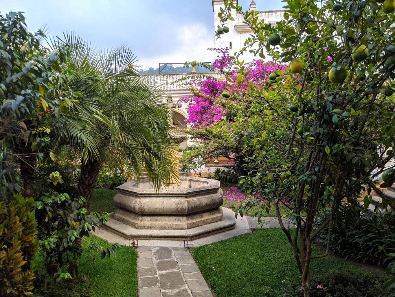 San Juan del Obispo garden