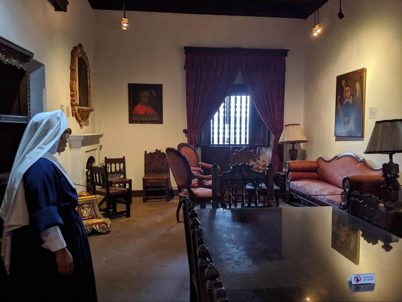 San Juan del Obispo interior