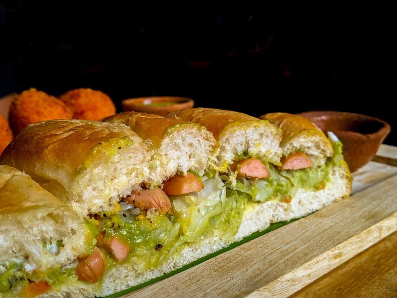 Shucos - Guatemalan version of a hot dog