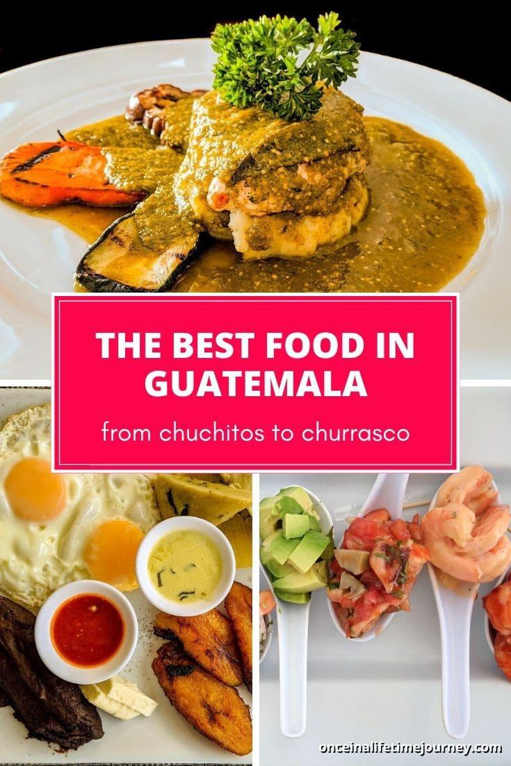 The best Guatemalan food
