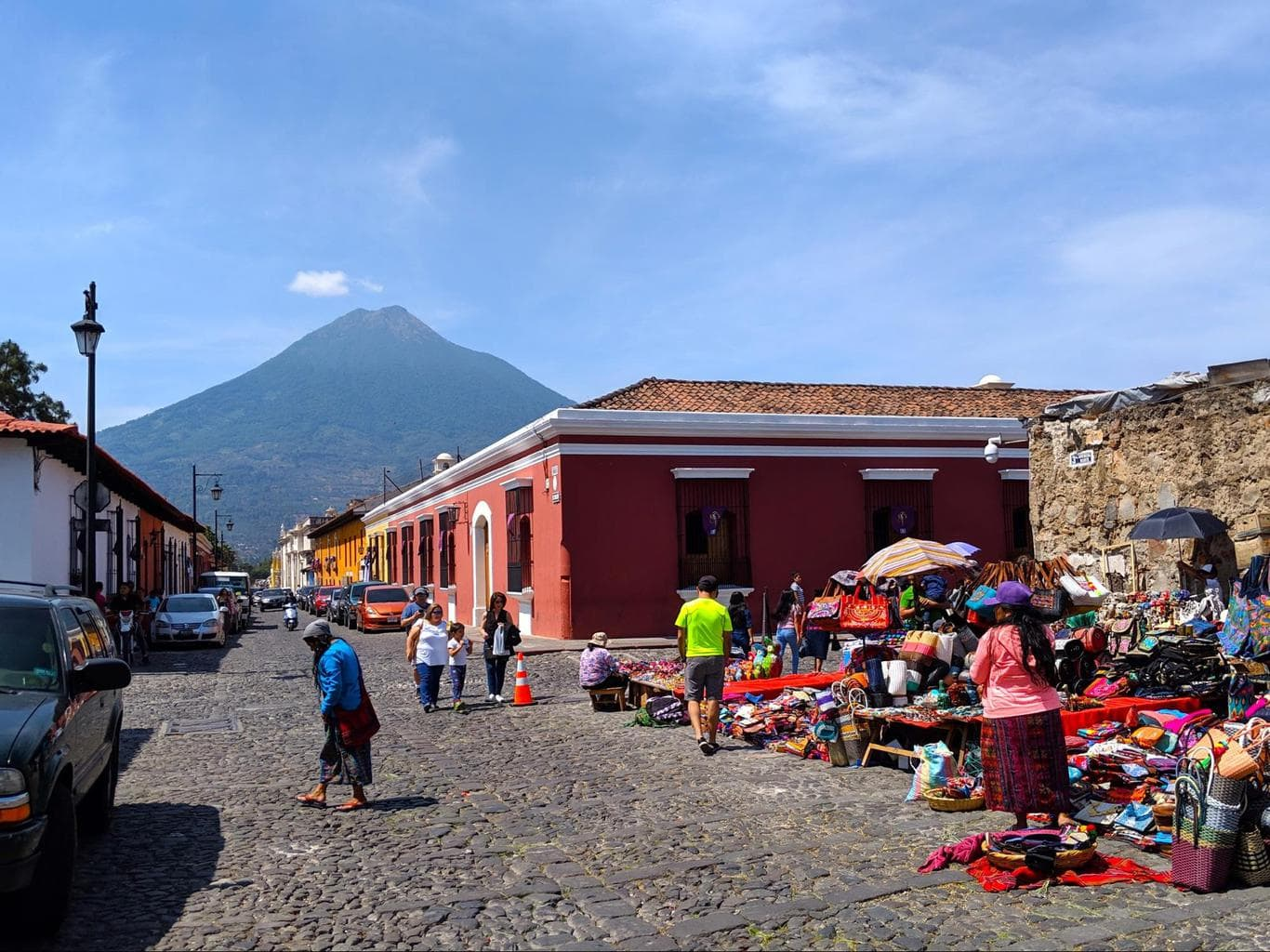 The dominant architectural style in Anitgua Guatemala is Baroque