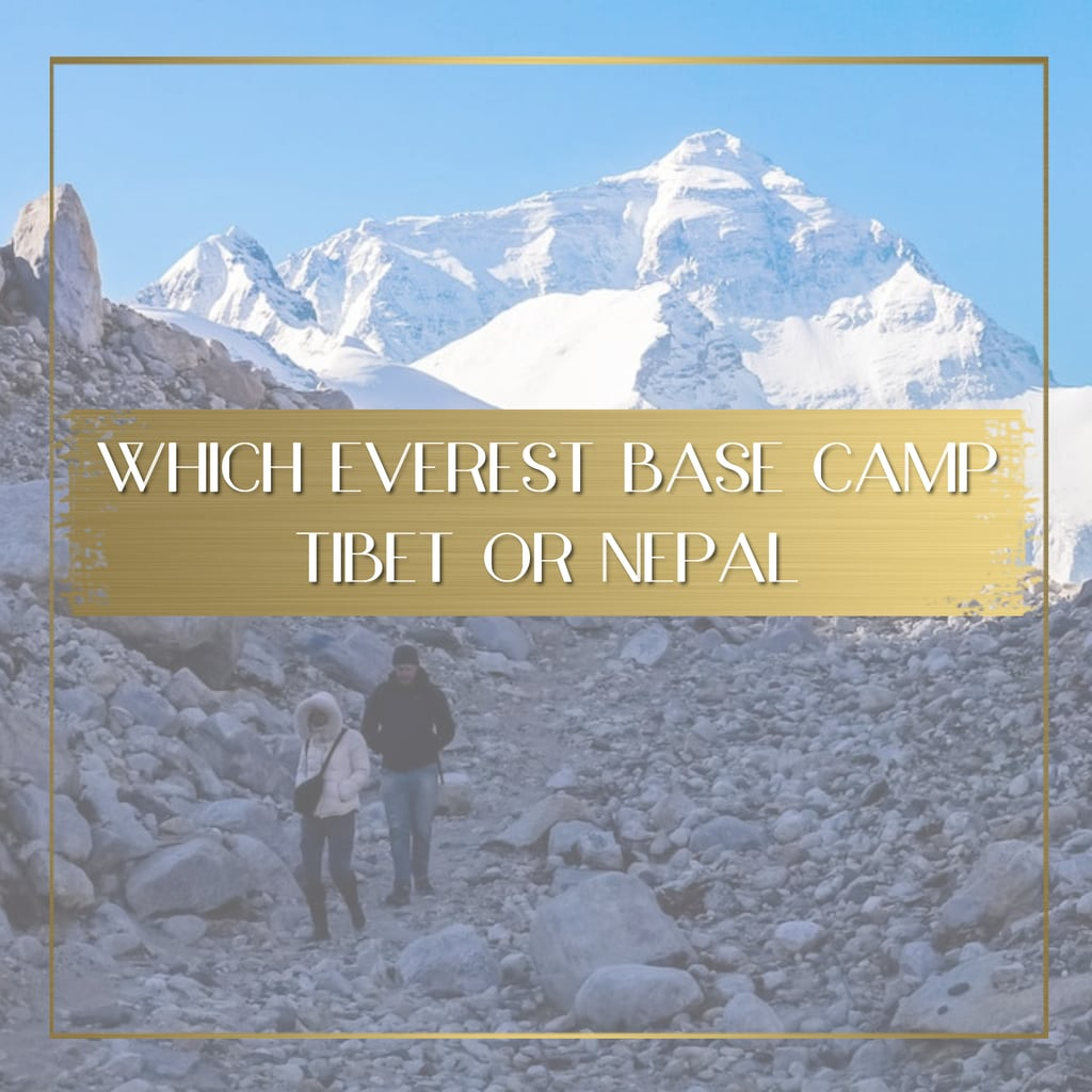 Which Everest Base Camp feature