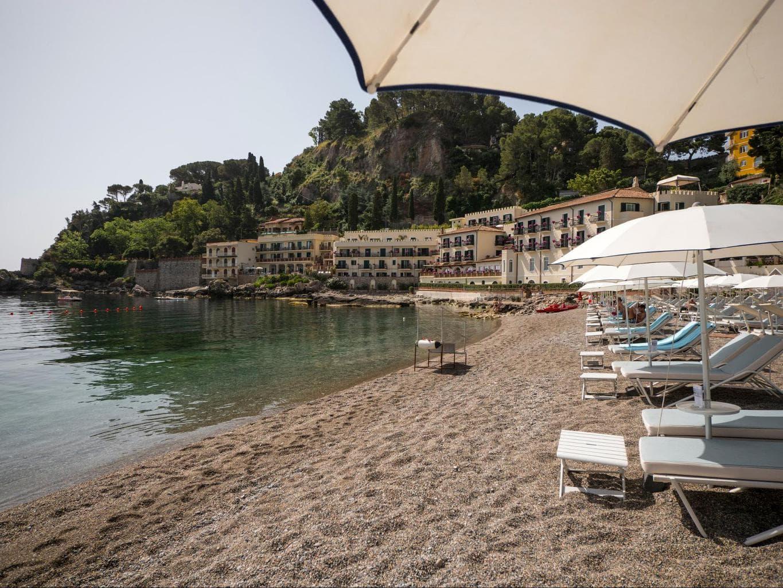 Belmond Villa Sant'Andrea beach