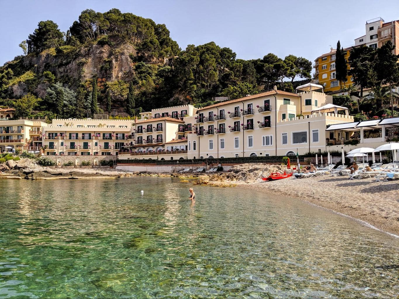 Belmond Villa Sant'Andrea - A beach hotel in a bourgeois vacation home