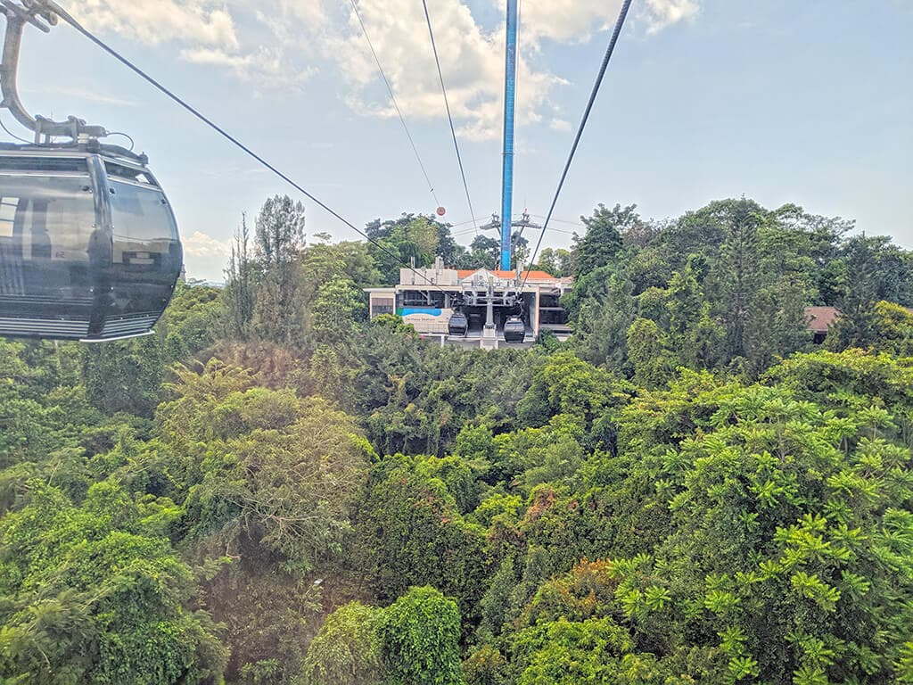 Cable Car to Sentosa ride