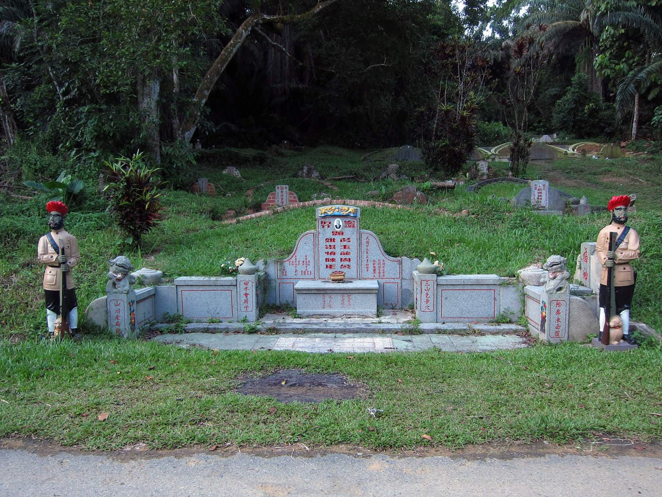 Chew Geok Leong tomb at Bukit Brown Cemetery