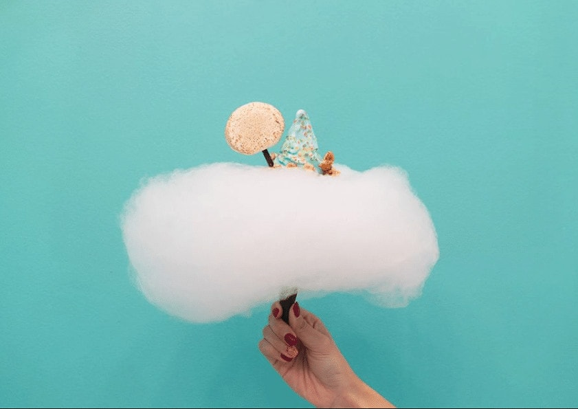 Cloud soft serve from Aqua S