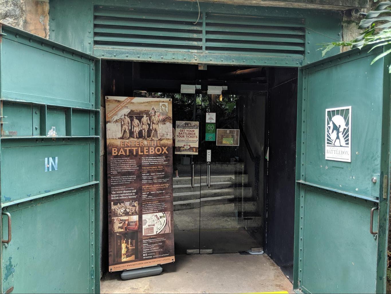 Entrance to the Battlebox
