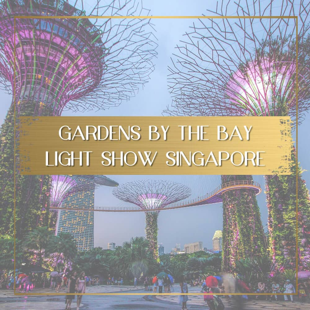 Gardens by the Bay Light Show Feature