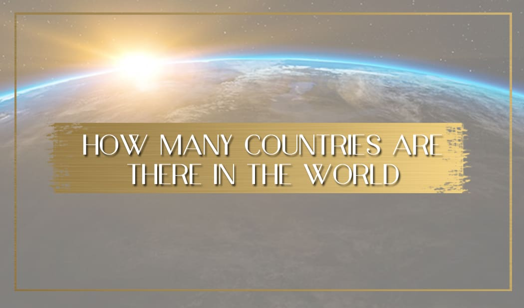 How many countries are there in the world main