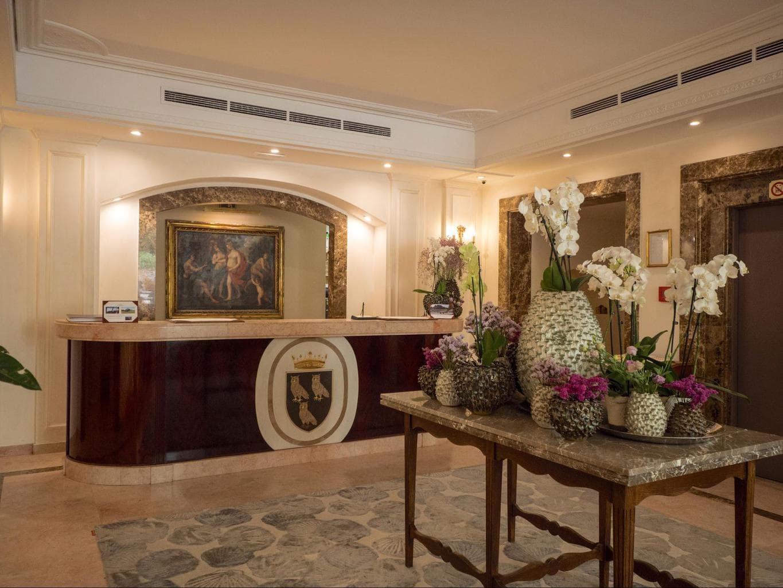 Reception at Belmond Villa Sant'Andrea