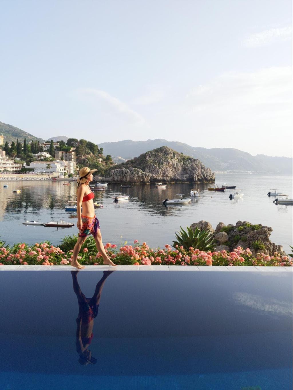 The pool at Belmond Villa Sant'Andrea 02