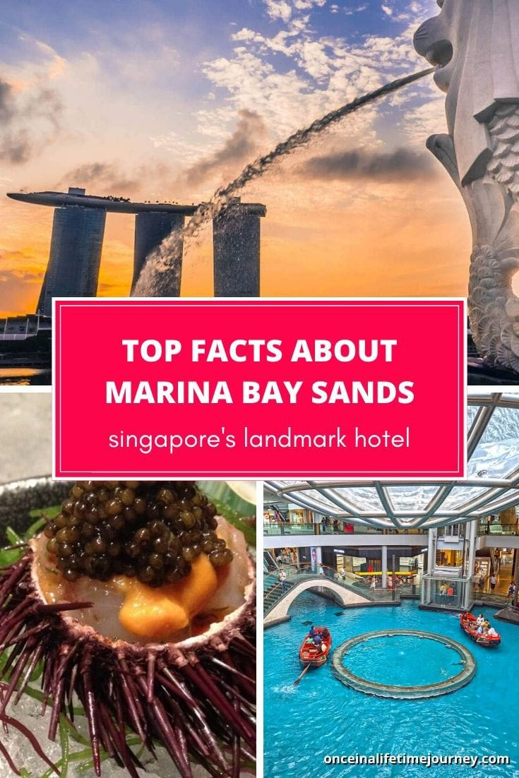 Top facts about Marina Bay Sands