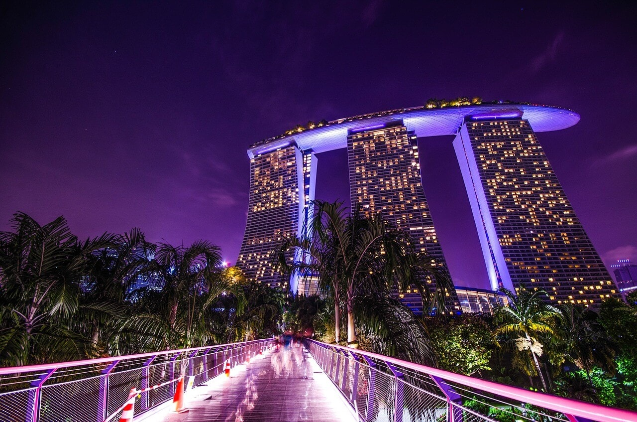Views of Marina Bay Sands