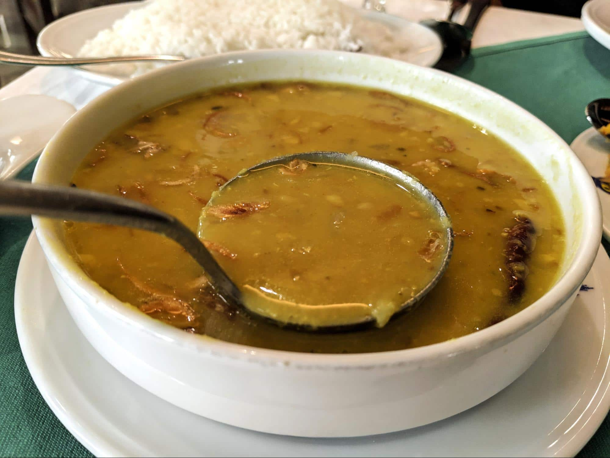 Bangladeshi dal is runnier than the Indian version
