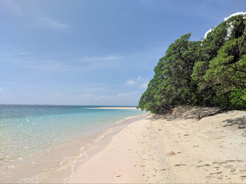 Beaches in the Funafuti Conservation Area