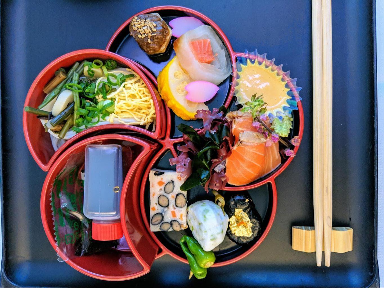 Beautiful bento box