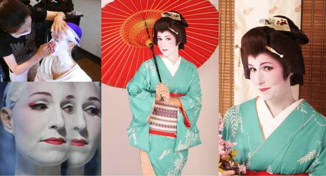 Becoming a geisha