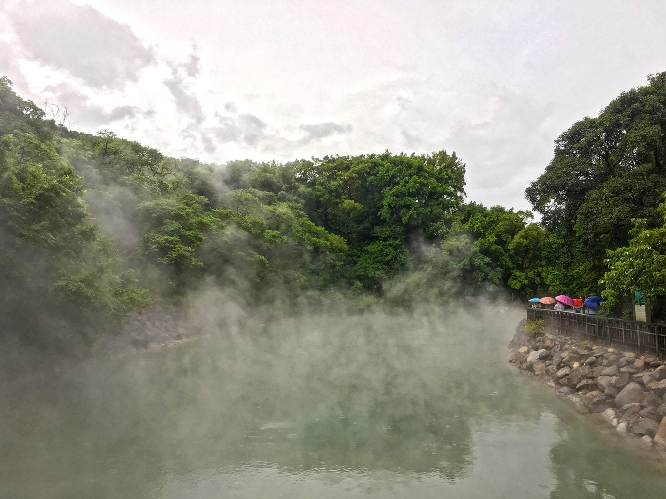 Beitou Hot Spring in Taipei