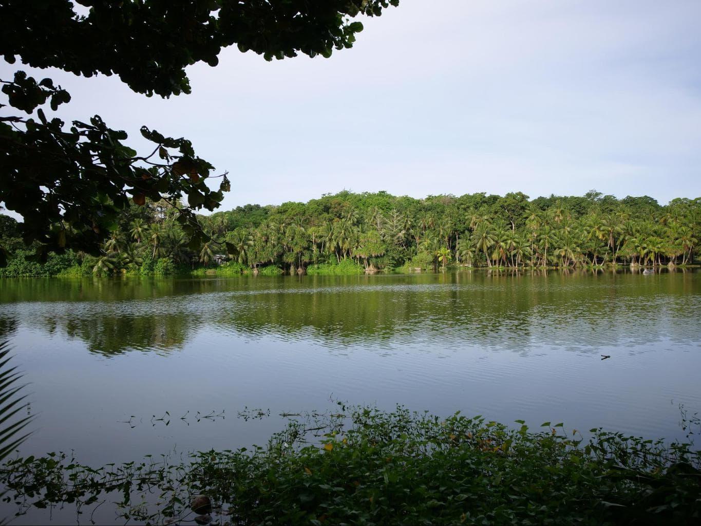 Buada Lagoon in Nauru