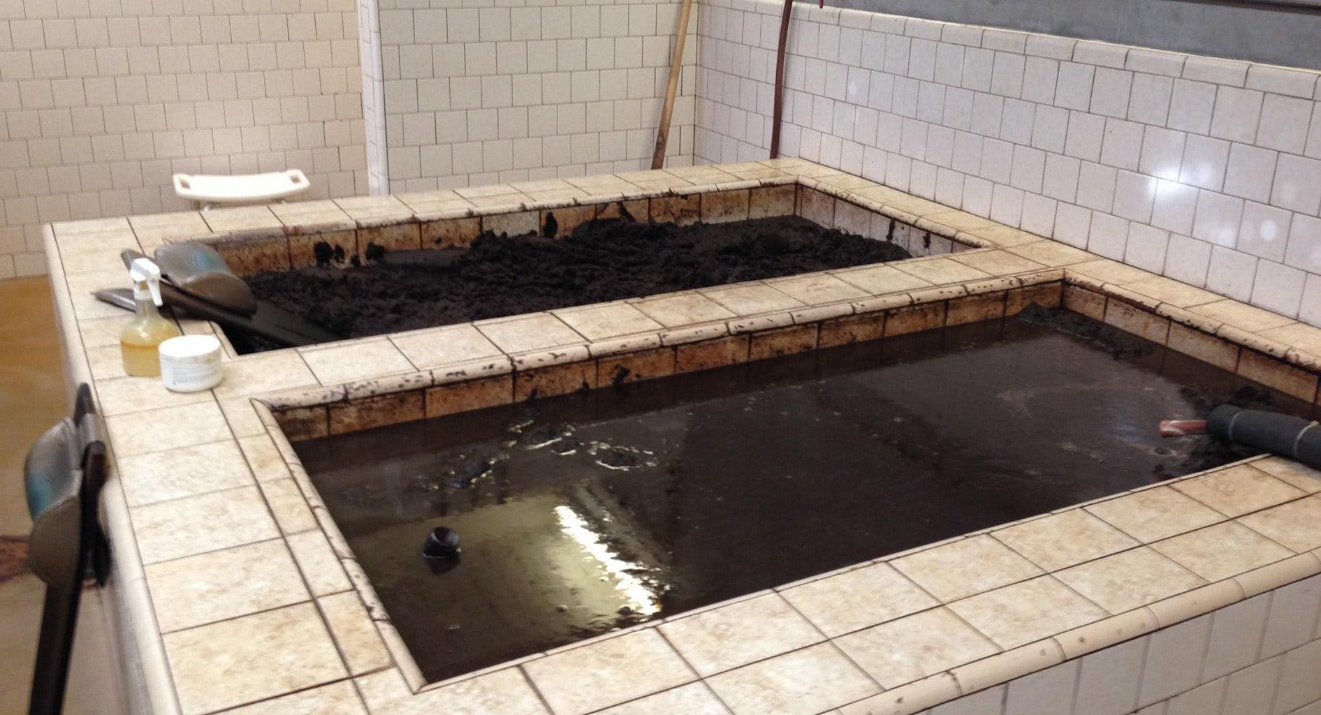 Calistoga mud bath