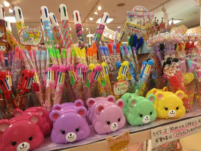 Cute Japanese stationery shopping