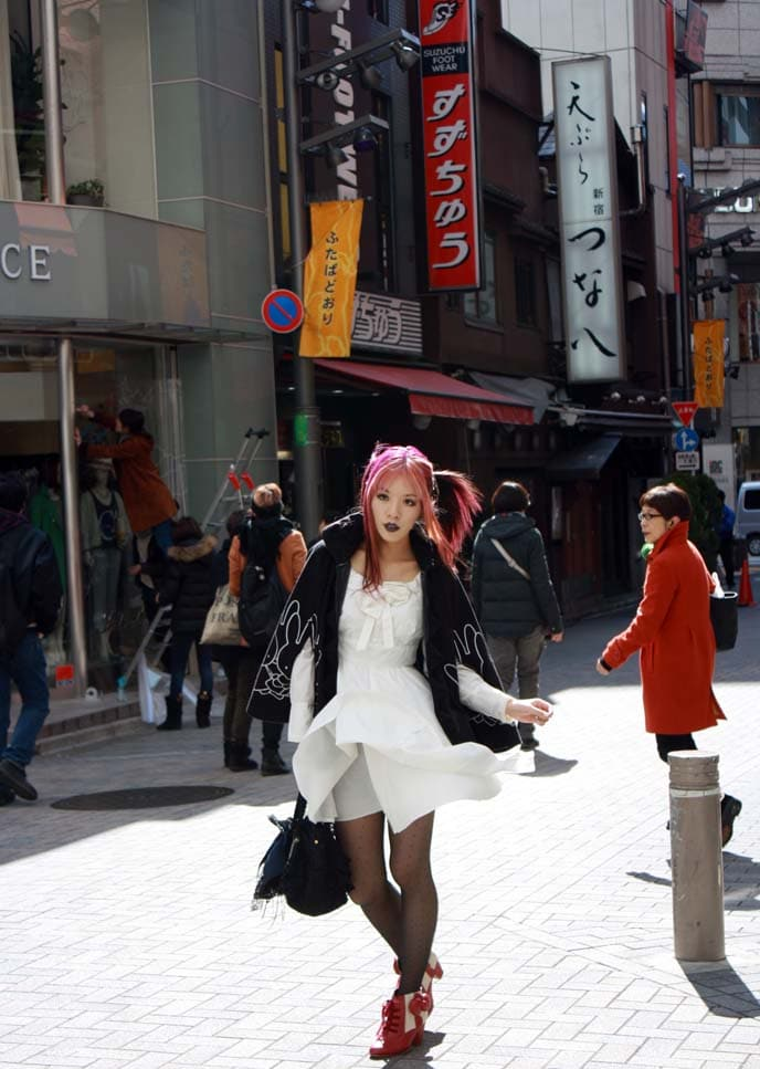 Day street style in Tokyo