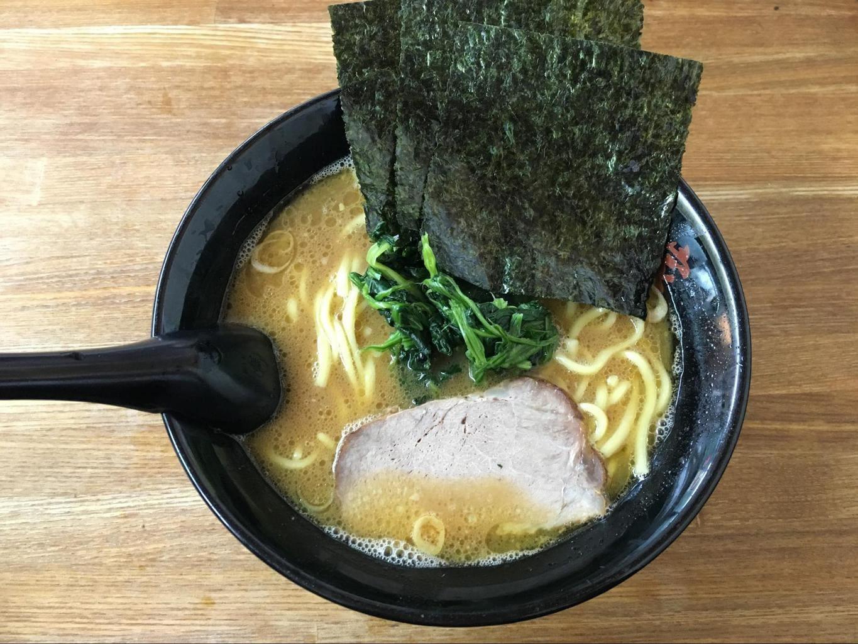 Delicious Japanese noodle soup, ramen