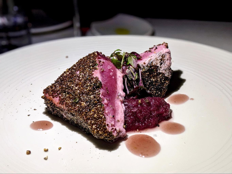 Delicious grilled tuna
