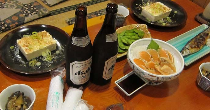 Fine Japanese beer
