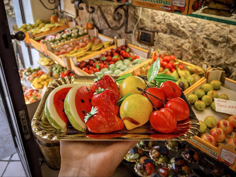 Frutta Martorana, or marzipan