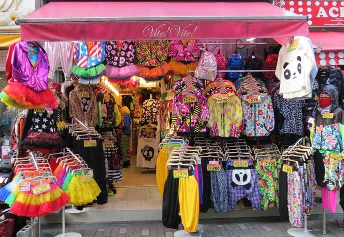 Fun shopping in Tokyo at Takeshita Street