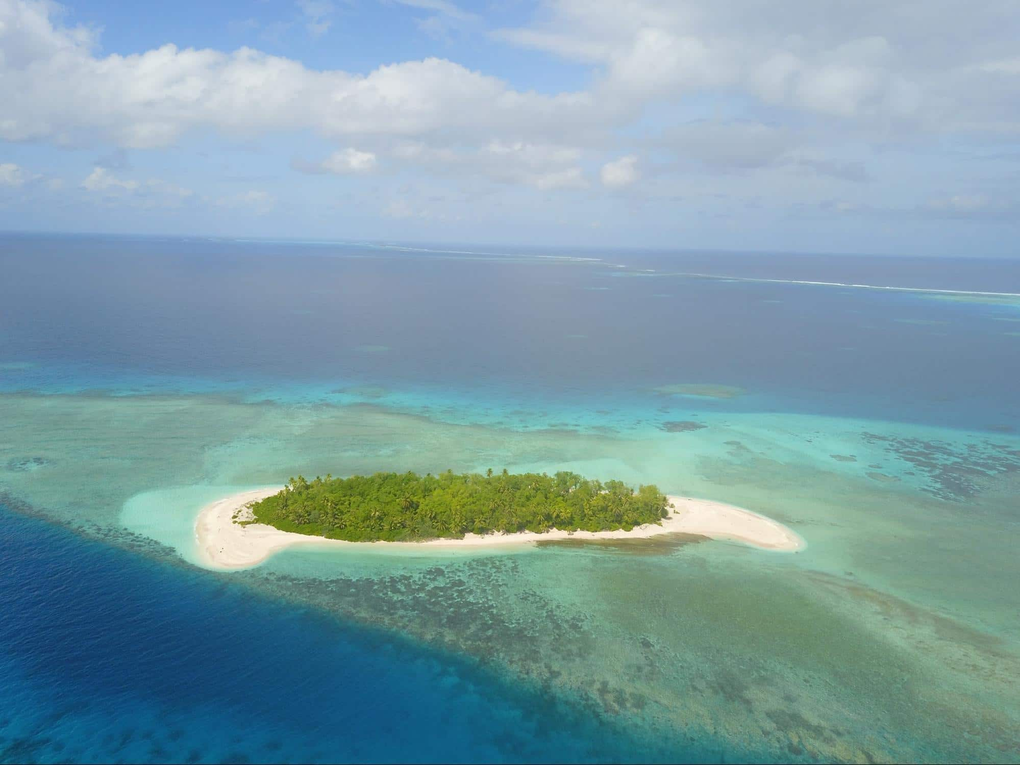 Funafuti Conservation Area from my drone