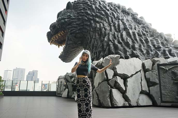 Godzilla Hotel in Japan
