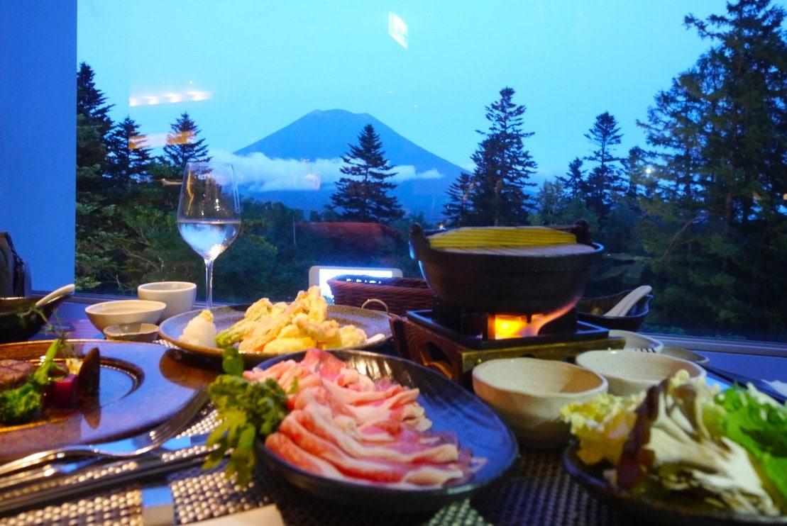 Heart-warming Japanese food - A shabu shabu evening in Niseko
