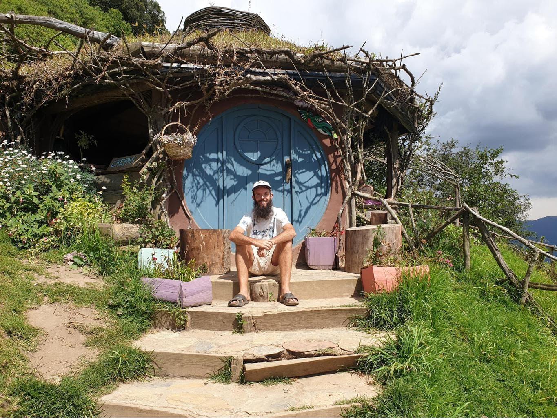 Hobbit holes in Hobbitenango