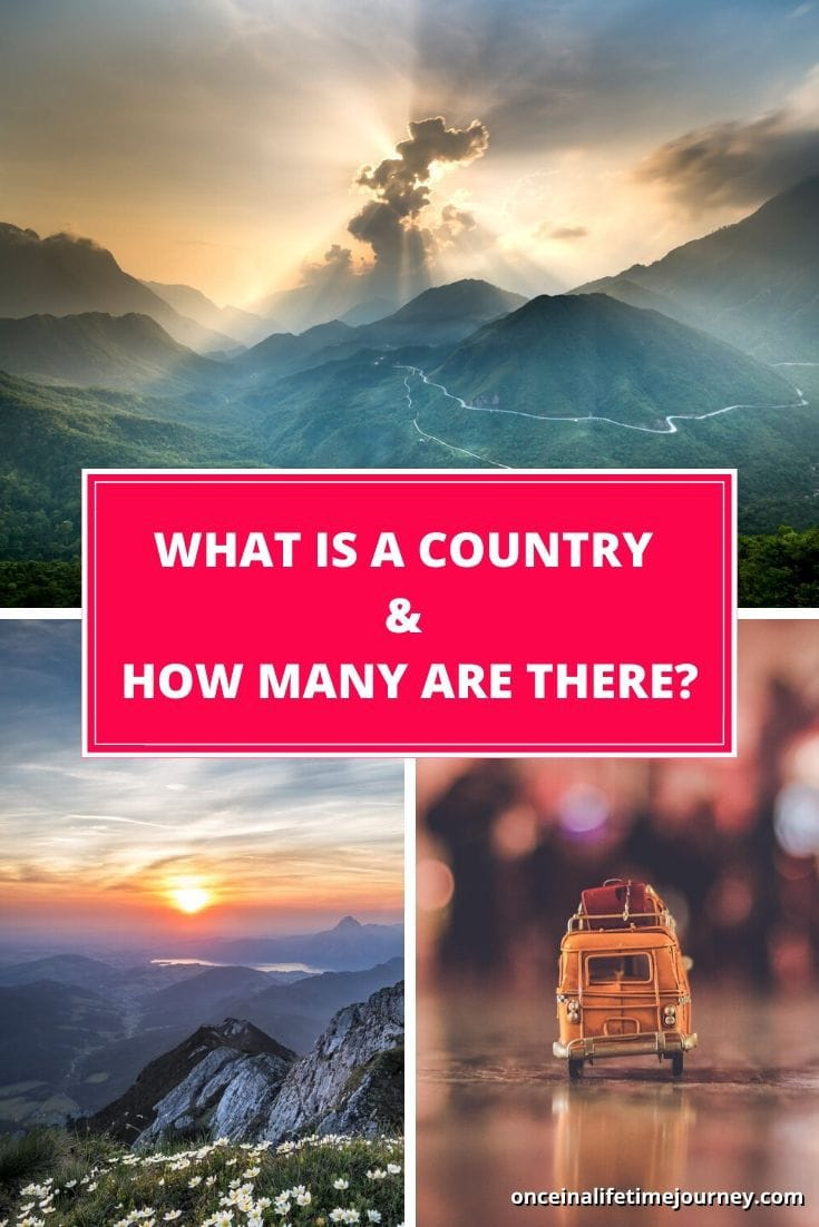 How many countries are there in the world? The answer may surprise you