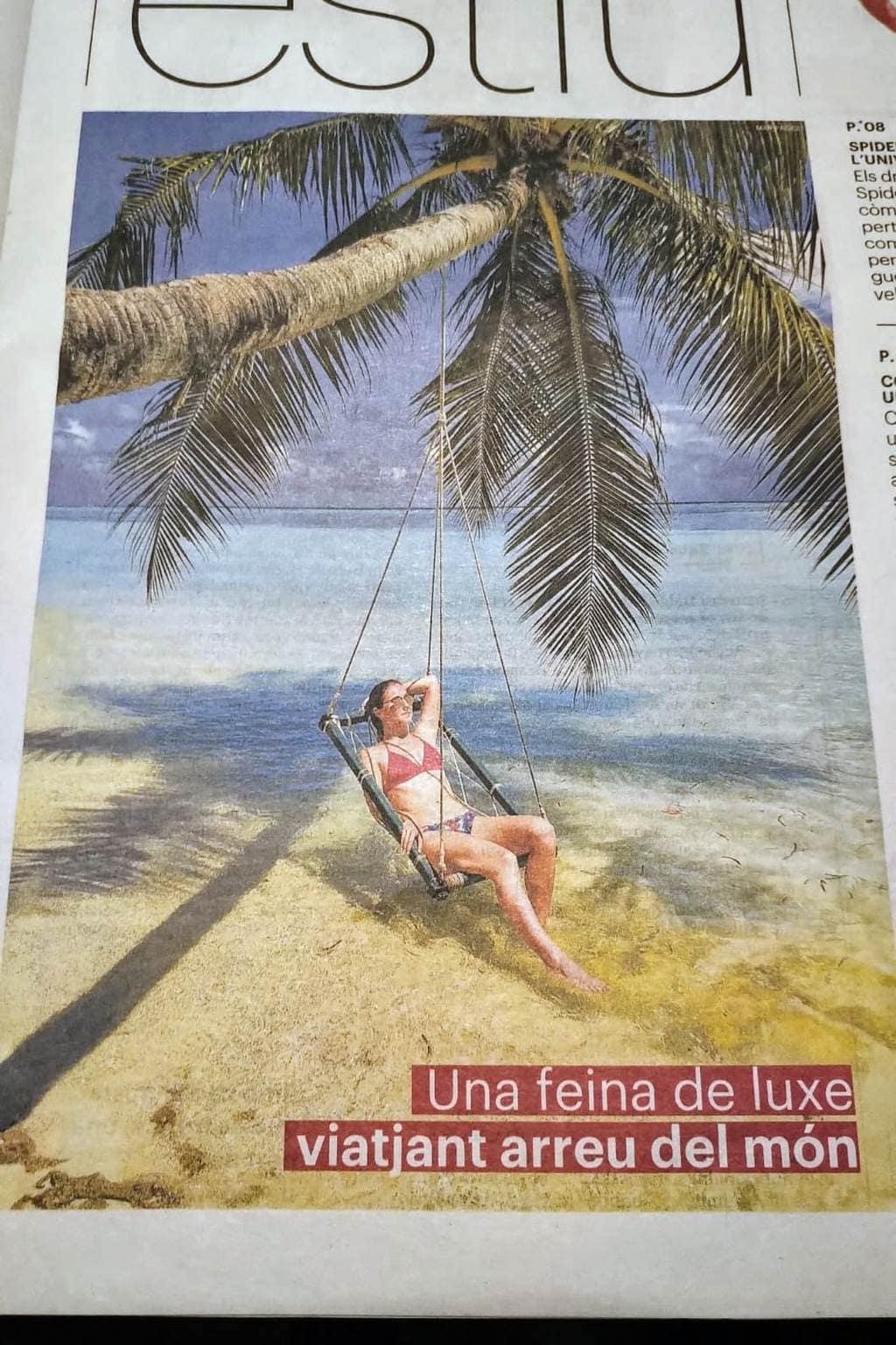 Ara newspaper cover