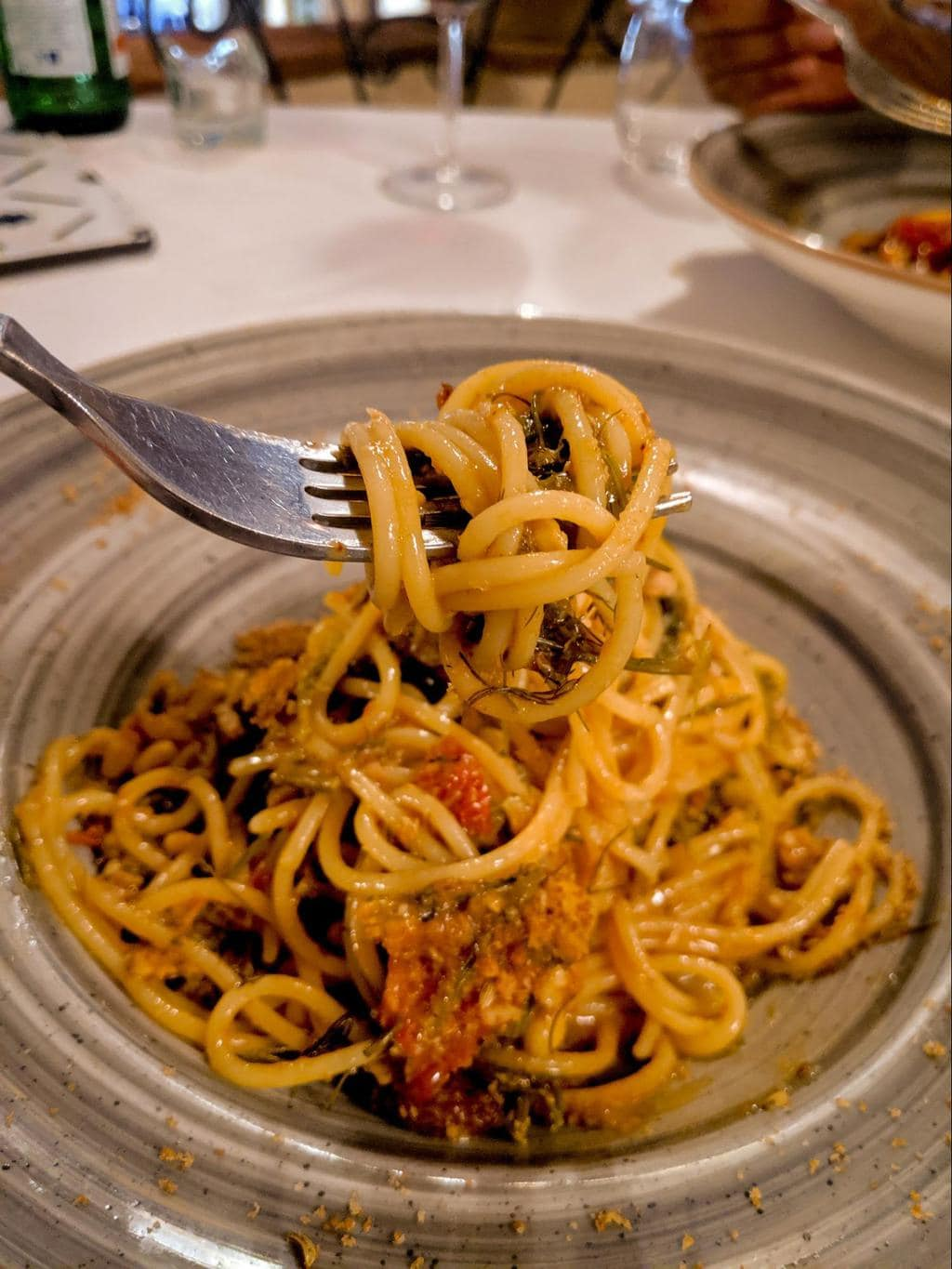 Italian meals are made of four dishes