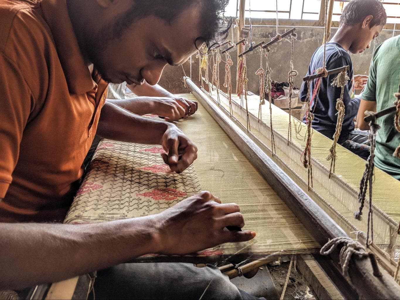Jamdani weaving 01