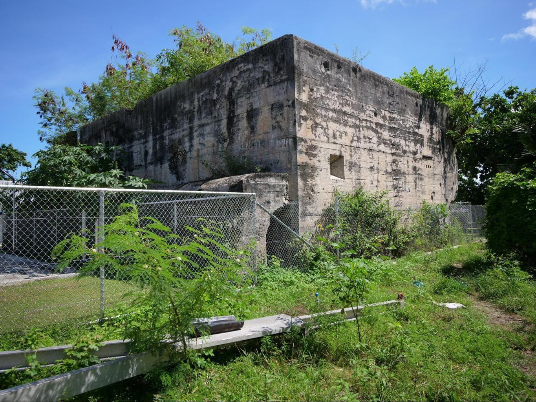 Japanese Command Bunker in Kiribati