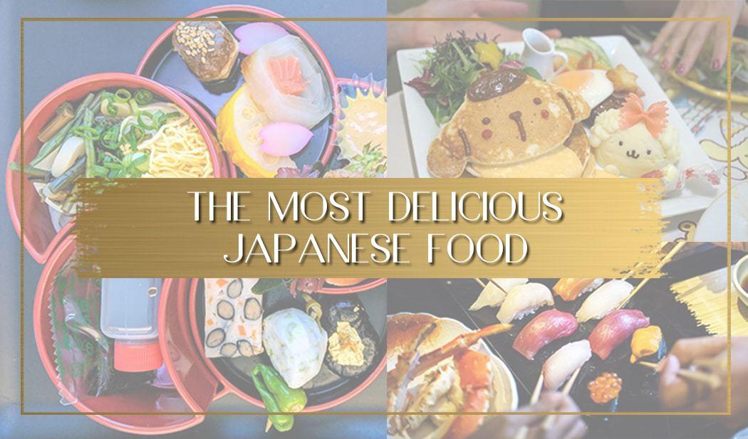 Japanese food main